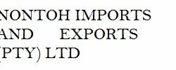Agriculture South Africa Nontoh Imports and Exports