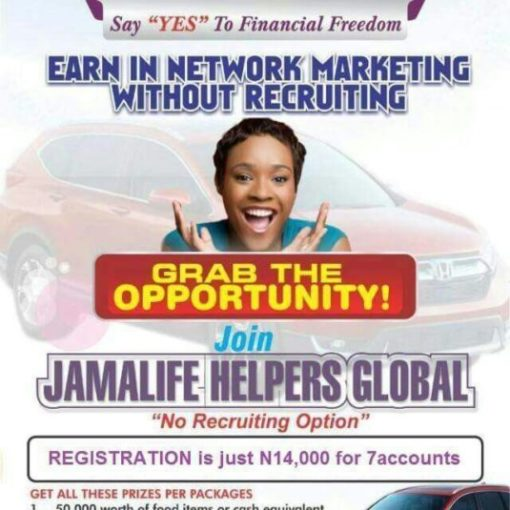 Jamalife Helpers Global Nigeria