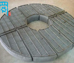 wire mesh demister pad for packed towers
