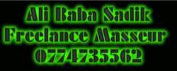 Ali Baba Sadik Mobile Massage services Nairobi