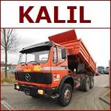 Kalil trucks export Holland