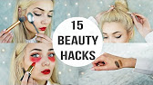 15 beauty hacks every girl should know