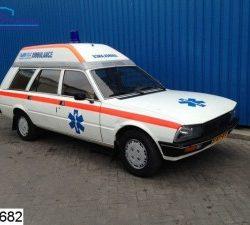 Car sale ambulance
