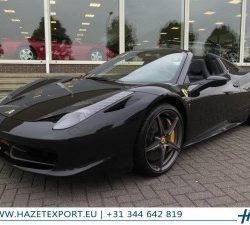 Ferrari 458 4.5 V8 SPIDER 566 PK F1 Sale