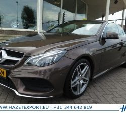 Mercedes-Benz E 350 AMG for sale by HAZET export