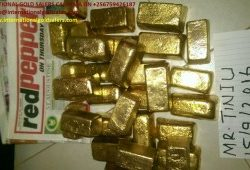 Gold nuggets, Gold dust, Gold bars sale
