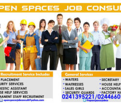 Open Spaces Job Consultancy Ghana
