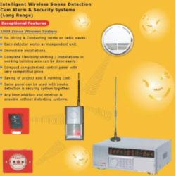 WIRELESS SMOKE FIRE ALARM NIGERIA
