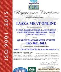 TAAZA MEAT ONLINE - IAS - 9001OK