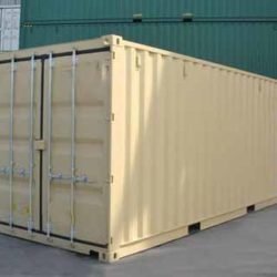 6 M and 12 M shipping containers for sale