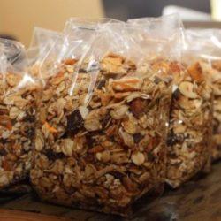 granola in bags