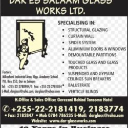 Dar es Salaam glass works ltd