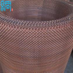 copper crimped mesh