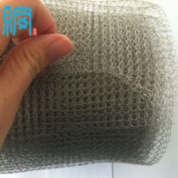 knitted wire mesh ribbon