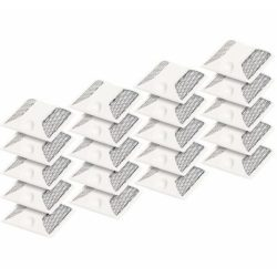 Pack-of-20-Commercial-Reflective-Road-Pavement-Marker---White-7037015