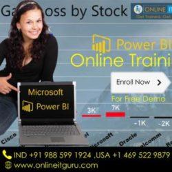 Power Bi Online Training India