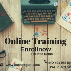 core java Online training 17-01-2018