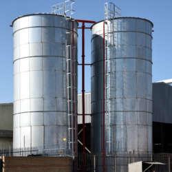 circular water tanks