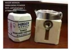 Hager werken embalming powder in Zimbabwe