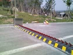 ROAD SPIKES BARRIER IN NIGERIA