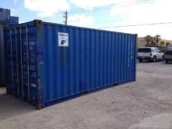 6m blue container