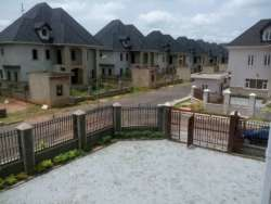 The view of the estate: New build in Apo area of Abuja