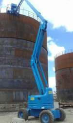 20m working height - articulating boomlift