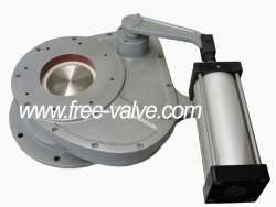 Pneumatic rotary Ceramic Feed Valve